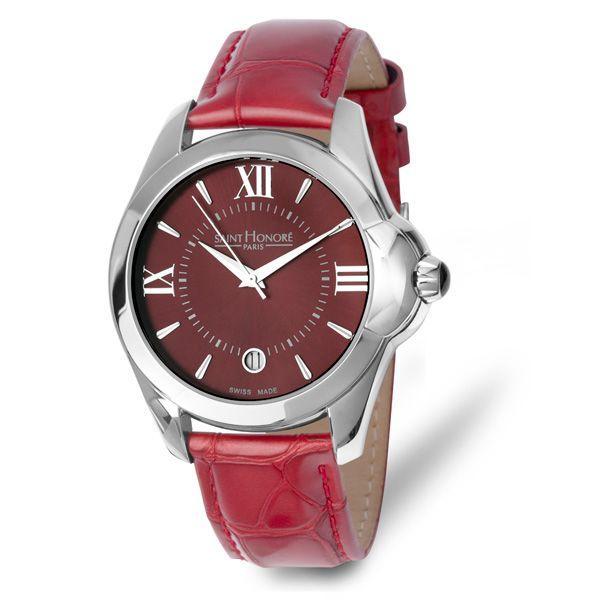 Czerwony zegarek Saint Honore (YES), cena
