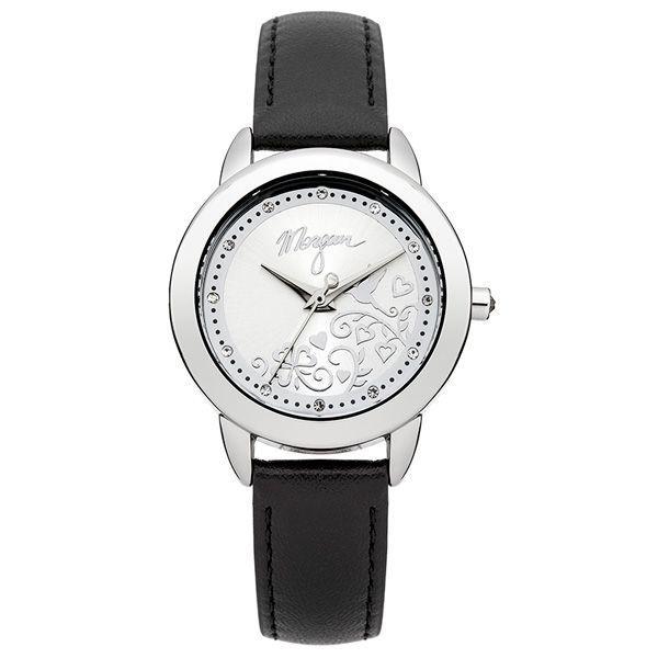 Czarny zegarek Morgan, cena