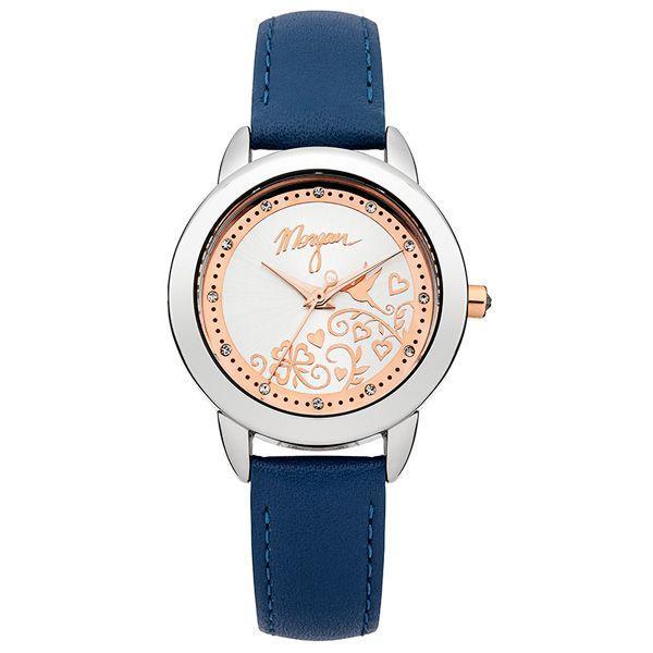Granatowy zegarek Morgan, cena