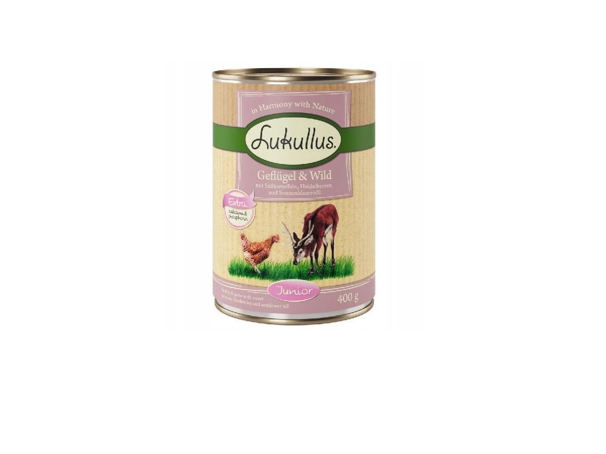 Mokra karma dla psa Lukullus