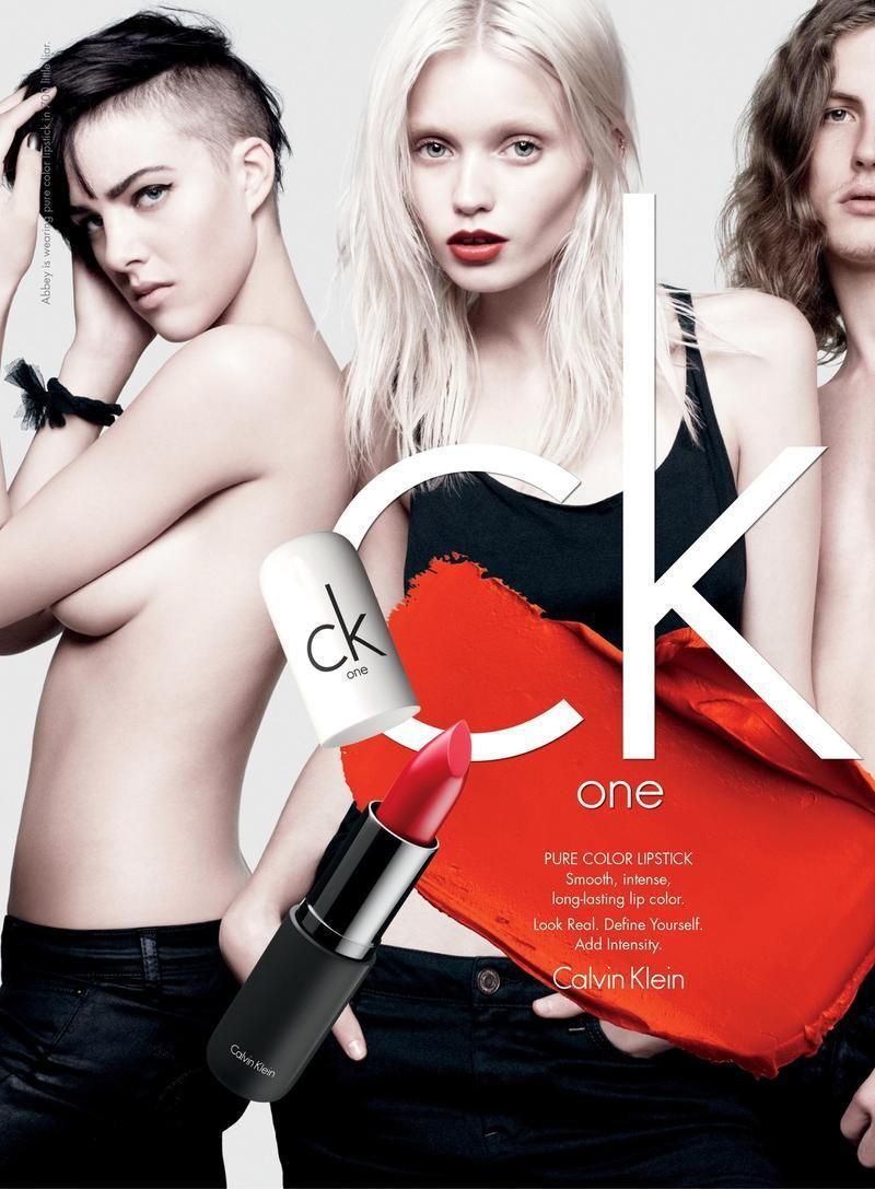 Calvin Klein jesień/zima 2012 - Abbey Lee Kershaw