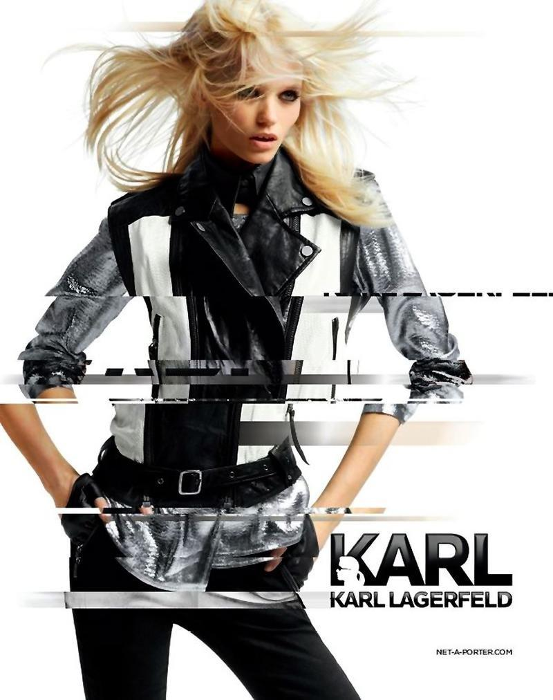 Karl Lagerfeld wiosna/lato 2012 - Abbey Lee Kershaw