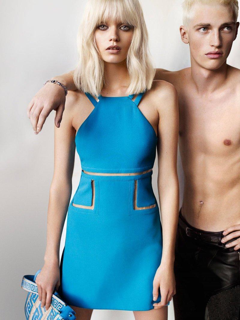 Versace wiosna/lato 2011 - Abbey Lee Kershaw