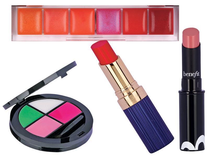 makijaż ust, ABC makijażu, czerwona szminka