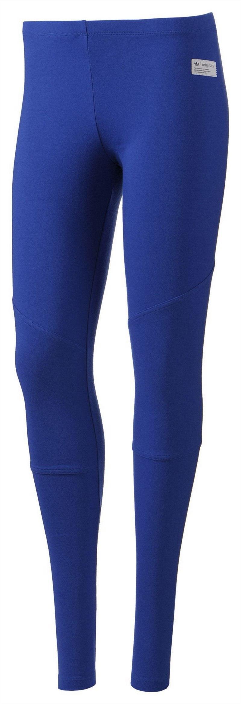 legginsy Adidas w kolorze niebieskim - wiosna/lato 2013