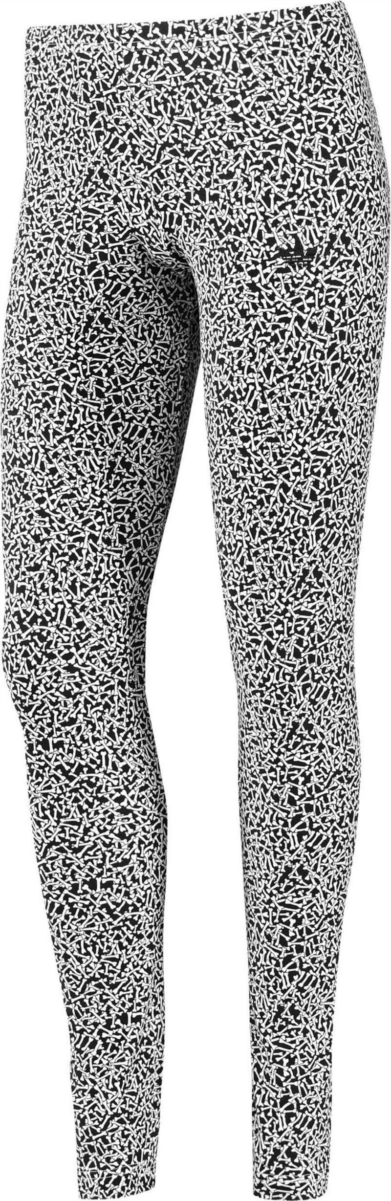 legginsy Adidas we wzorki - kolekcja wiosenno-letnia
