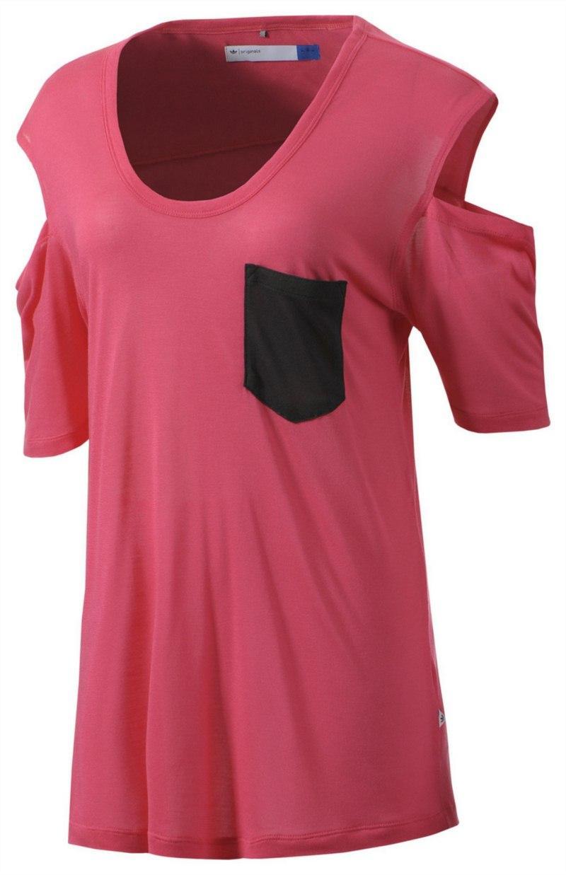 t-shirt Adidas w kolorze różowym - kolekcja wiosenno-letnia