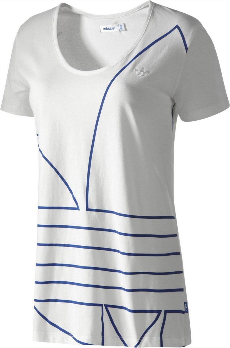 t-shirt Adidas w kolorze białym - kolekcja wiosenno-letnia