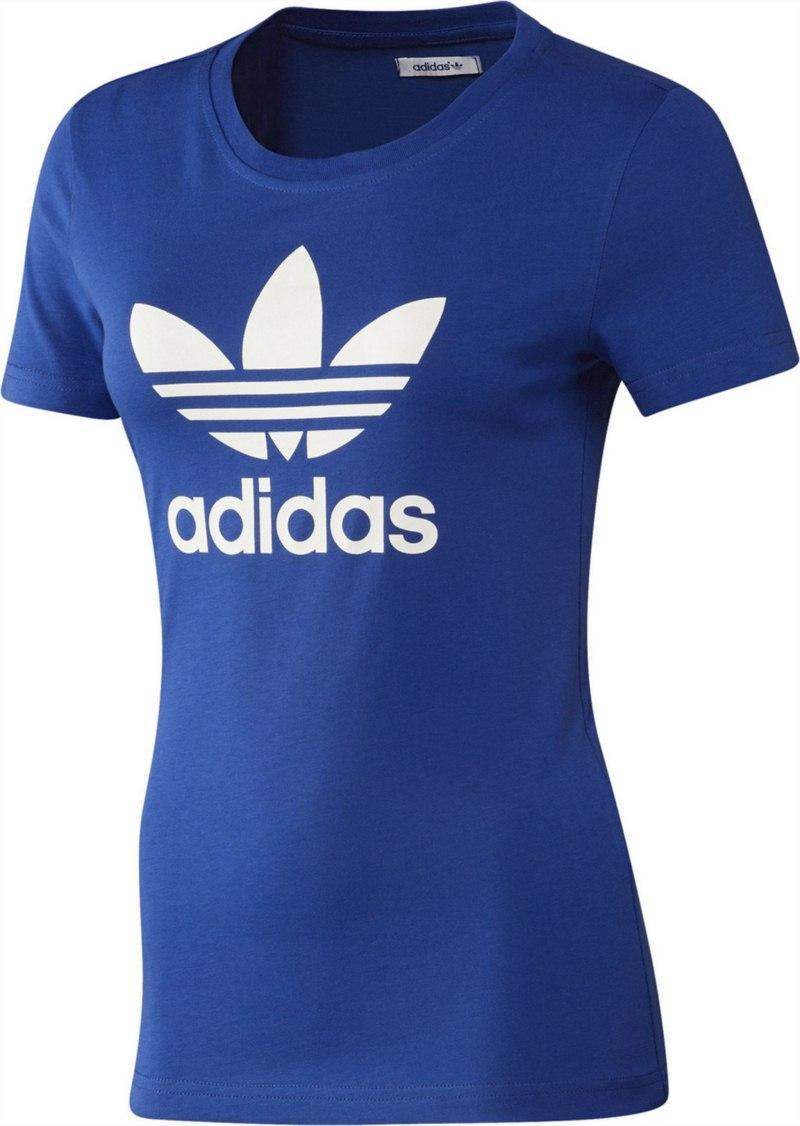 t-shirt Adidas w kolorze niebieskim - kolekcja wiosenno-letnia