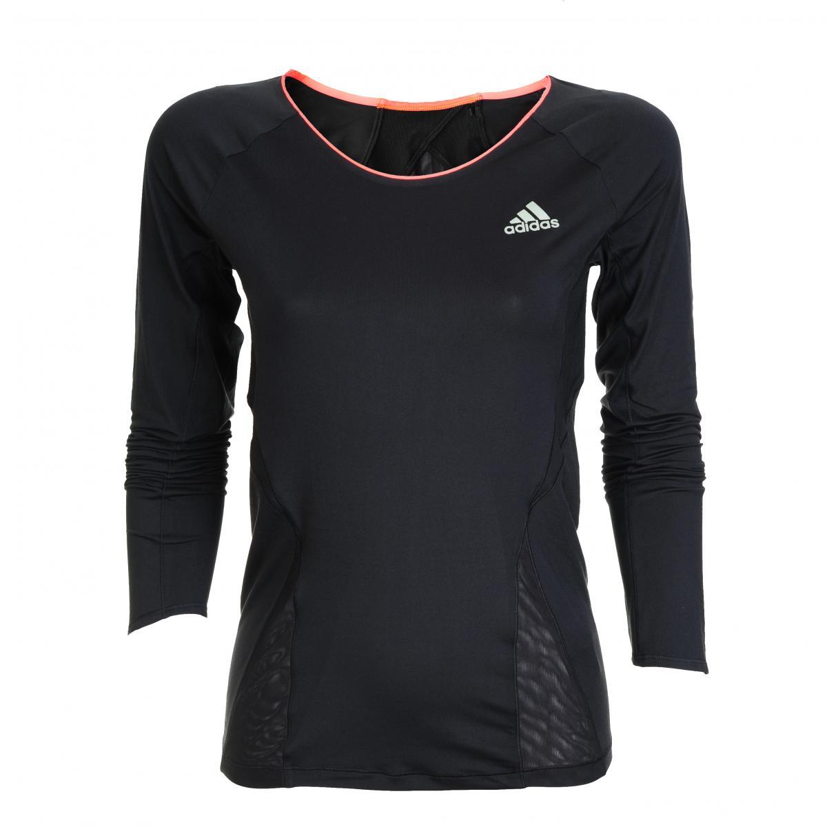 Wygodna koszulka Adidas w kolorze czarnym - moda 2012/13