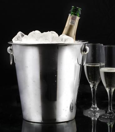 Wiaderko do szampana, www.garneczki.pl, cena 21,00 zł