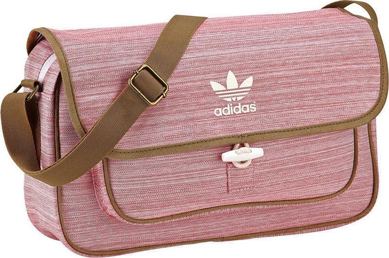 listonoszka Adidas w kolorze czerwonym - wiosna/lato 2013