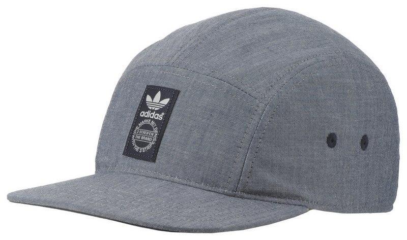 czapka z daszkiem Adidas w kolorze szarym - wiosna/lato 2013