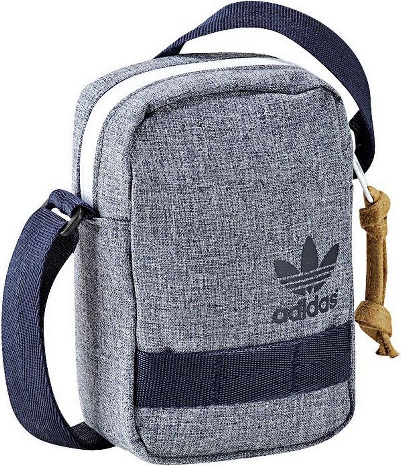 listonoszka Adidas w kolorze popielatym - wiosna/lato 2013