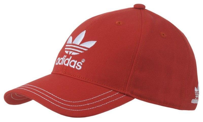 czapka z daszkiem Adidas w kolorze bordowym - kolekcja wiosenno-letnia
