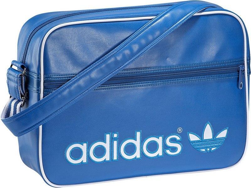 sportowa torba Adidas w kolorze niebieskim - kolekcja wiosenno-letnia