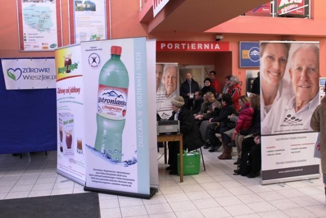 """Mobilna Poradnia Kardiologiczna Kardiofon!"""" w CH Auchan Modlińska/ fot. CNK Kardiofon"""