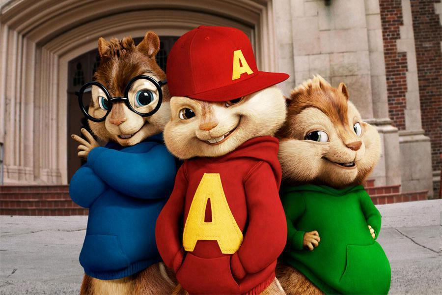 Alvin i wiewiórki2
