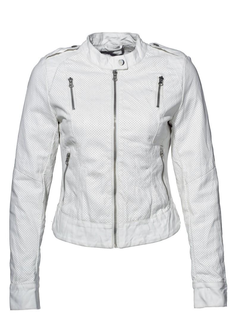 biała kurtka New Yorker - kolekcja wiosenna