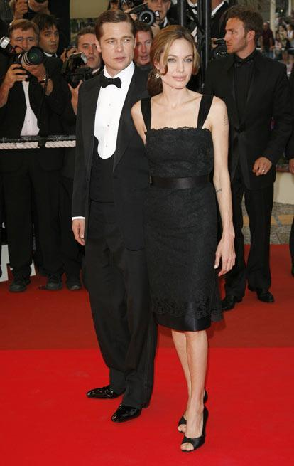 Angelina i Brad w Cannes