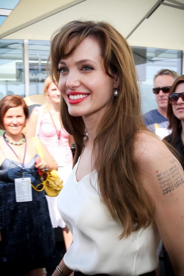 """<b>Angelina Jolie</b> promuje w Moskwie film """"Salt"""""""