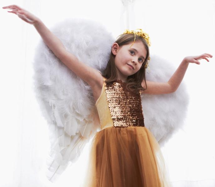 anielskie skrzydła krok po kroku