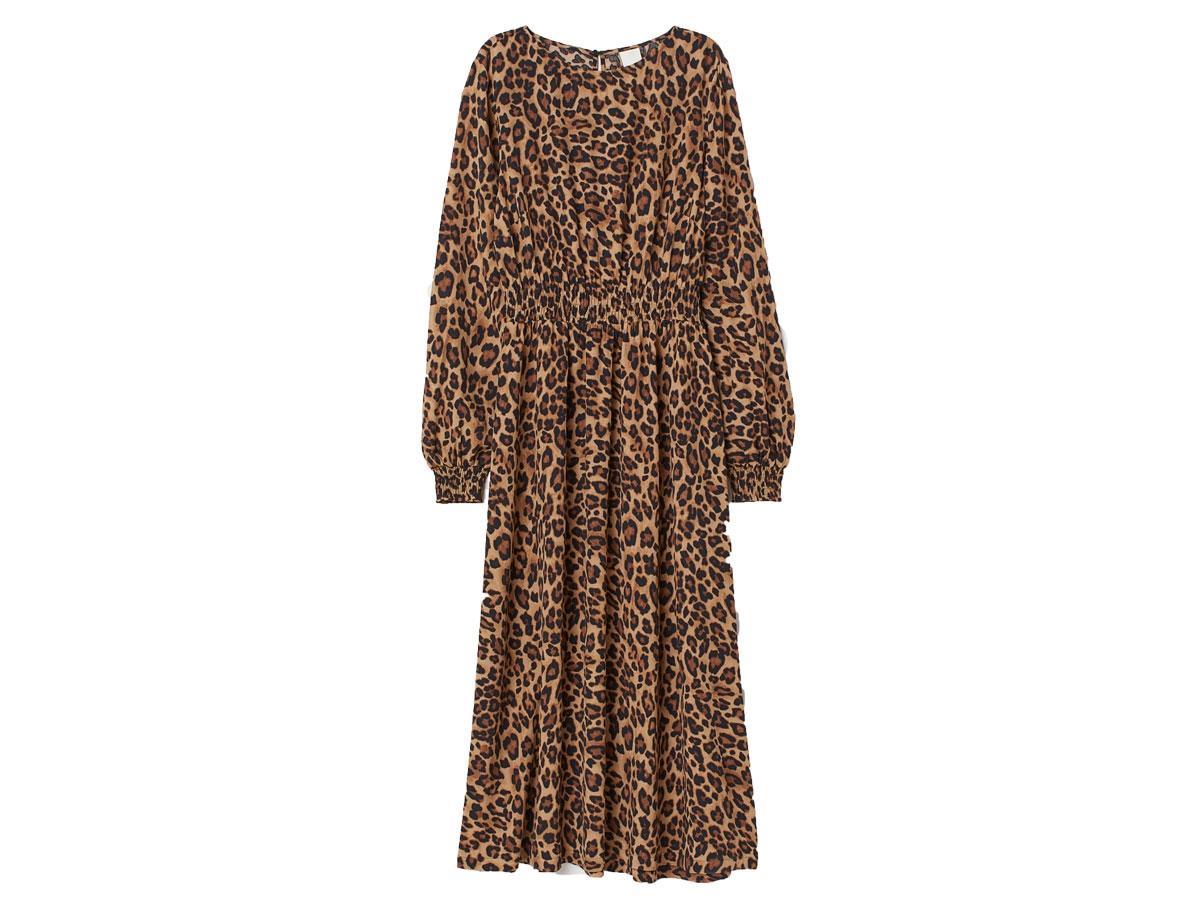 Sukienka w panterkę, H&M, cena ok. 129,99 zł