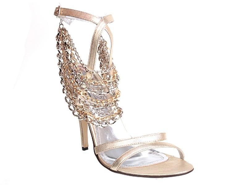 6de67355abd7e złote sandały Quazi z łańcuszkiem - z kolekcji wiosna-lato 2011 ...