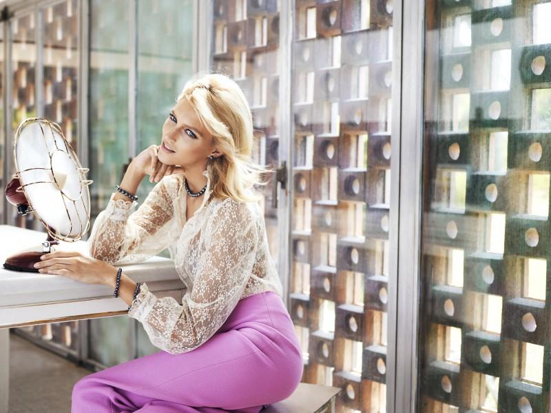 Anja Rubik i perły - jubileuszowa kampania Apart