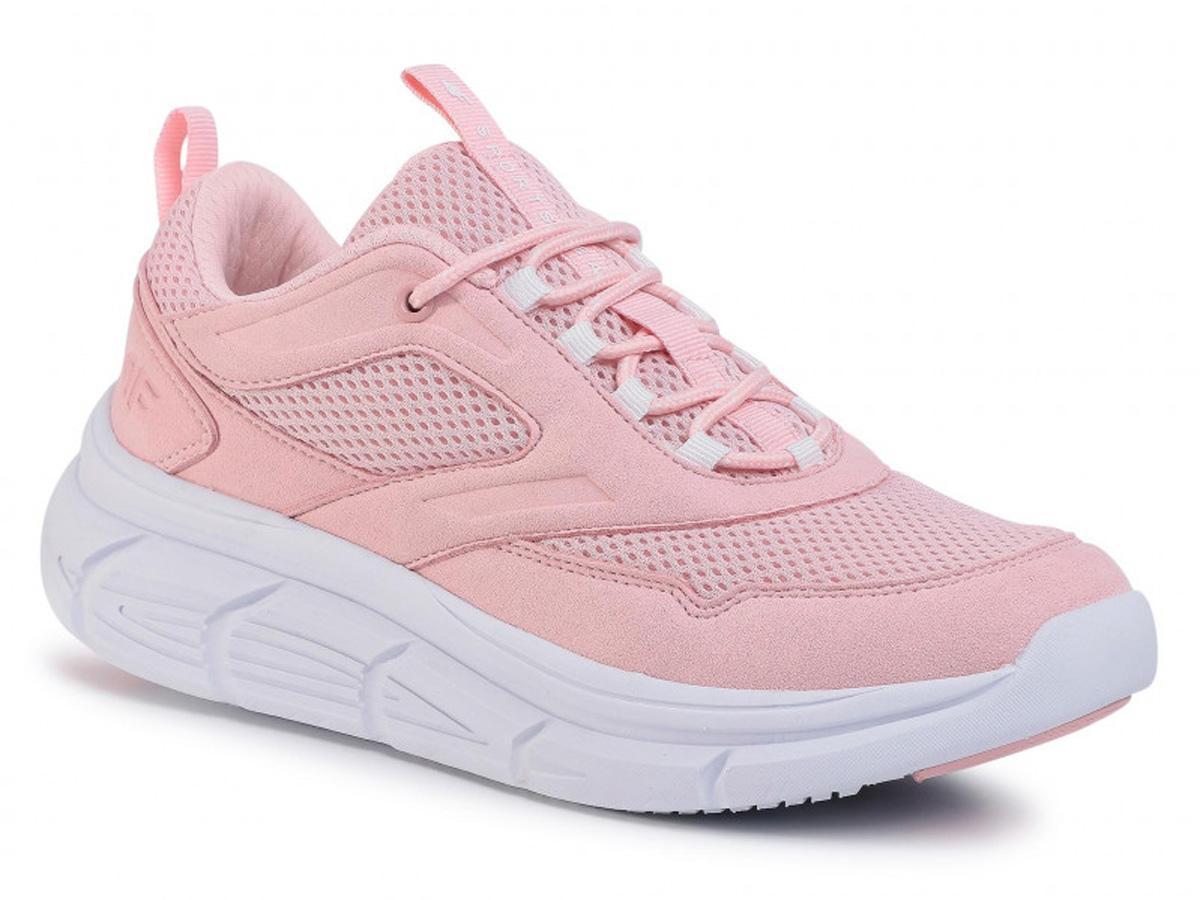 Różowe sneakersy 4F