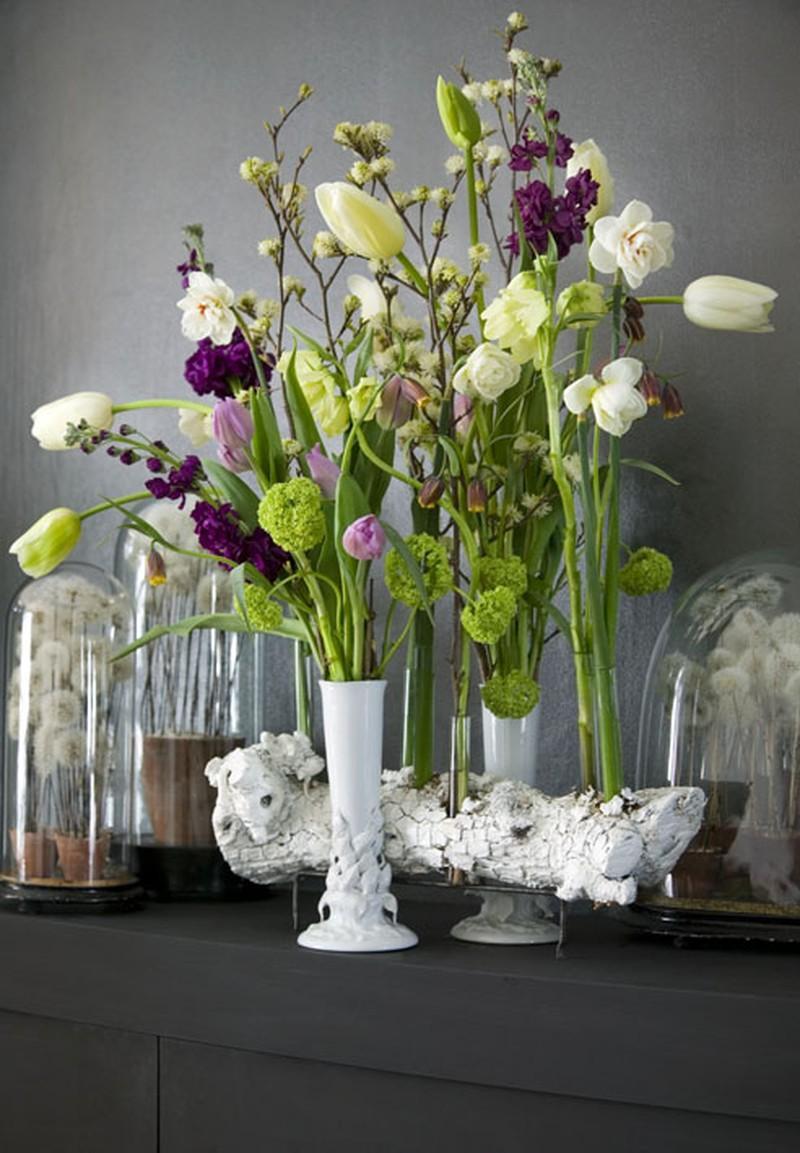 Aranżacje kwiatowe wiosna 2009 - Zdjęcie 1