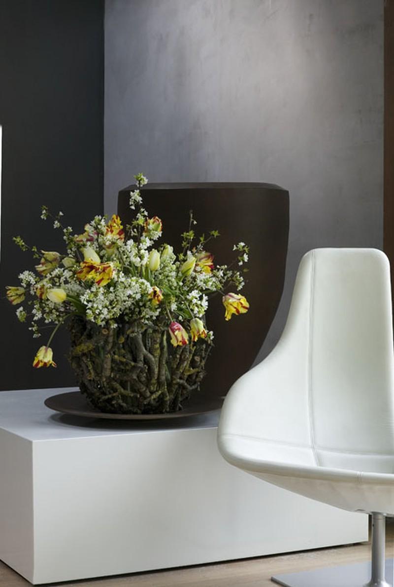 Aranżacje kwiatowe wiosna 2009 - zdjęcie