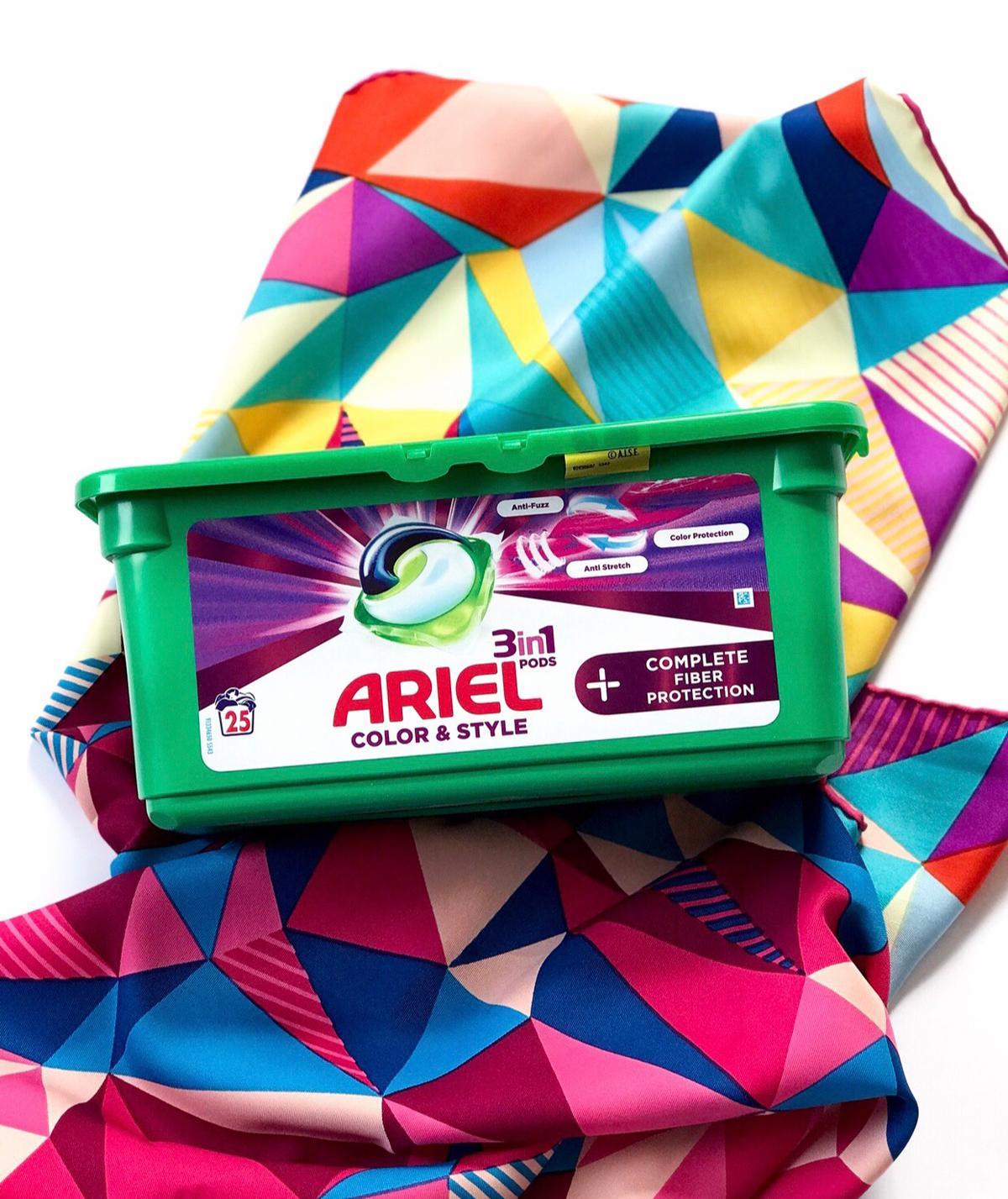 Ariel do kolorowych ubrań