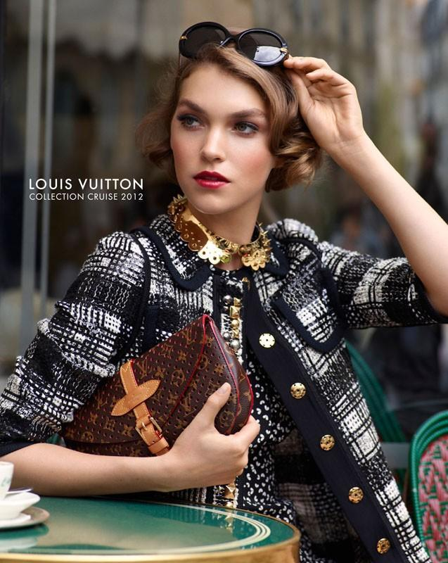 Louis Vuitton styczeń 2012 - Arizona Muse