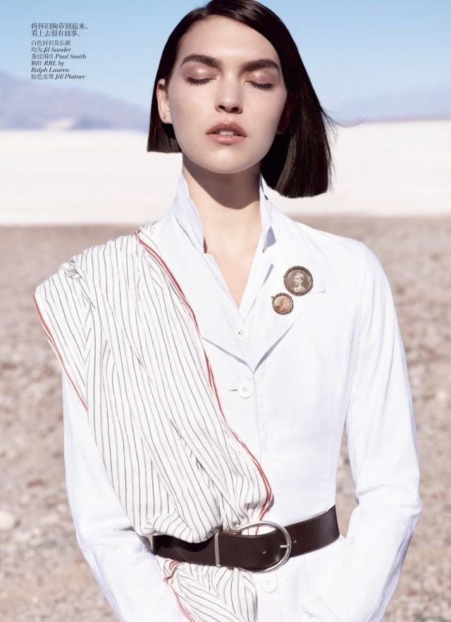 Vogue China maj 2012 - Arizona Muse