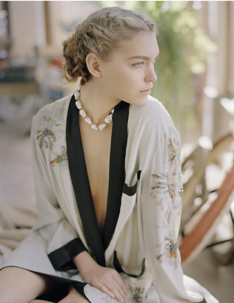 Vogue Russia czerwiec 2013 - Arizona Muse