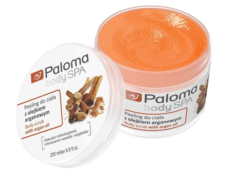 Peeling do ciała z olejem arganowym, Paloma, cena: 12 zł