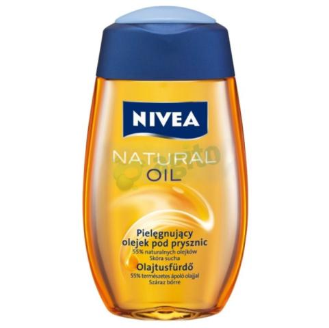 Zawiera 55% naturalnych olejków pielęgnujących, dzięki którym Twoja skóra pozostanie oczyszczona i nawilżona. Nivea, około 16 zł