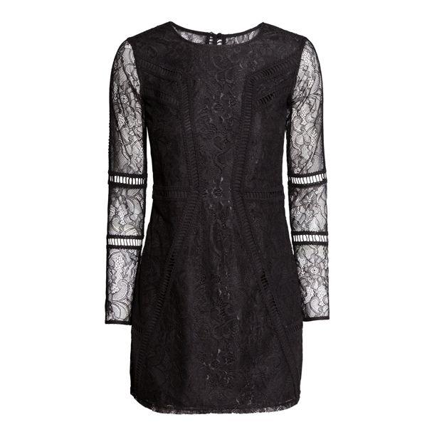 Walentynki 2015: koronkowa sukienka H&M, cena