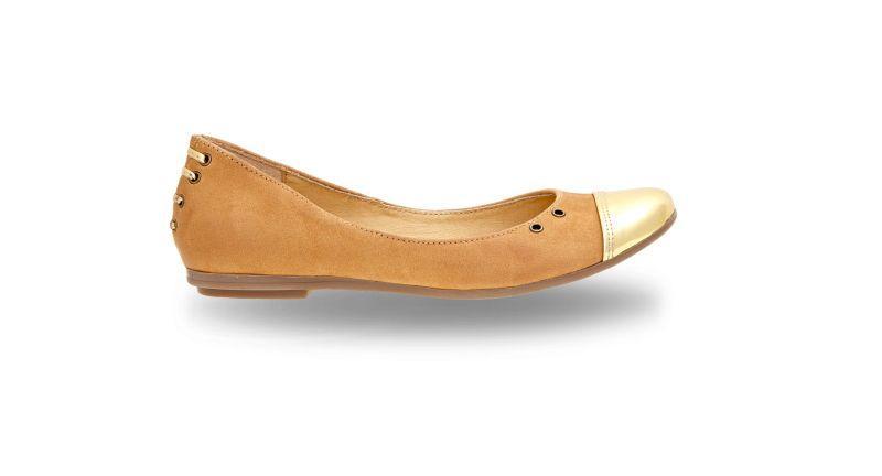 35b2fd21 skórzane baleriny Wojas w kolorze brązowym - moda 2013 - Baleriny i ...