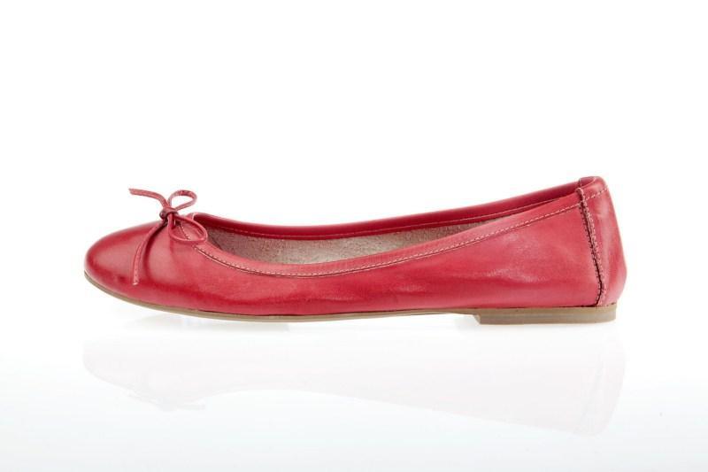 czerwone baleriny Prima Moda - wiosna/lato 2011