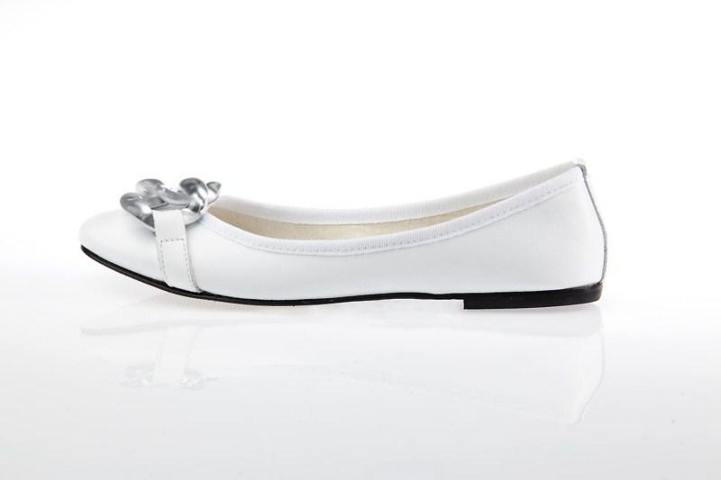 białe baleriny Prima Moda - wiosna 2011
