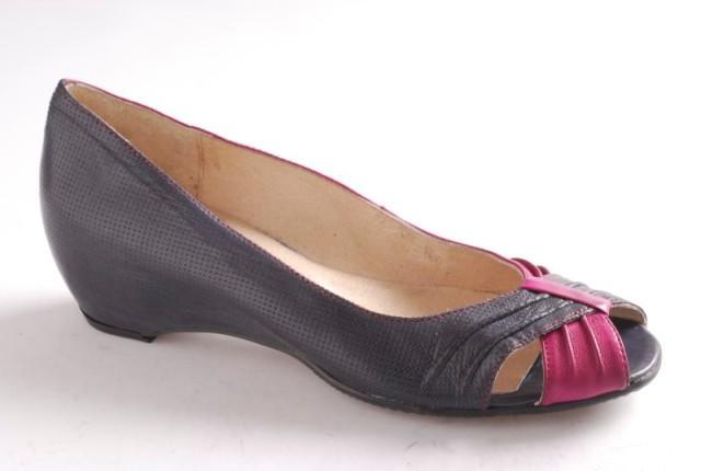 czarne baleriny Ryłko - moda 2011