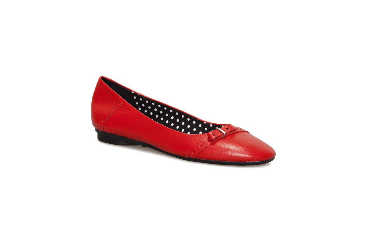 czerwone baleriny Vagabond - wiosenna kolekcja