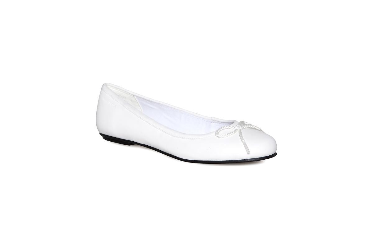 białe baleriny Vagabond - letnia kolekcja