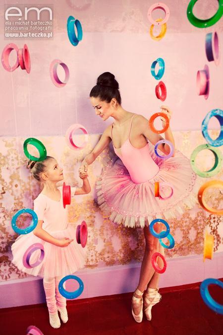 Baletnica i balet - motyw przewodni ślubu