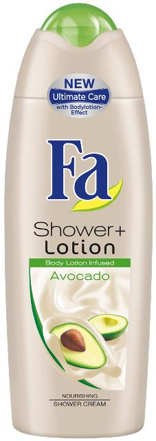 Balsam-żel pod prysznic z wyciągiem z awokado - Fa