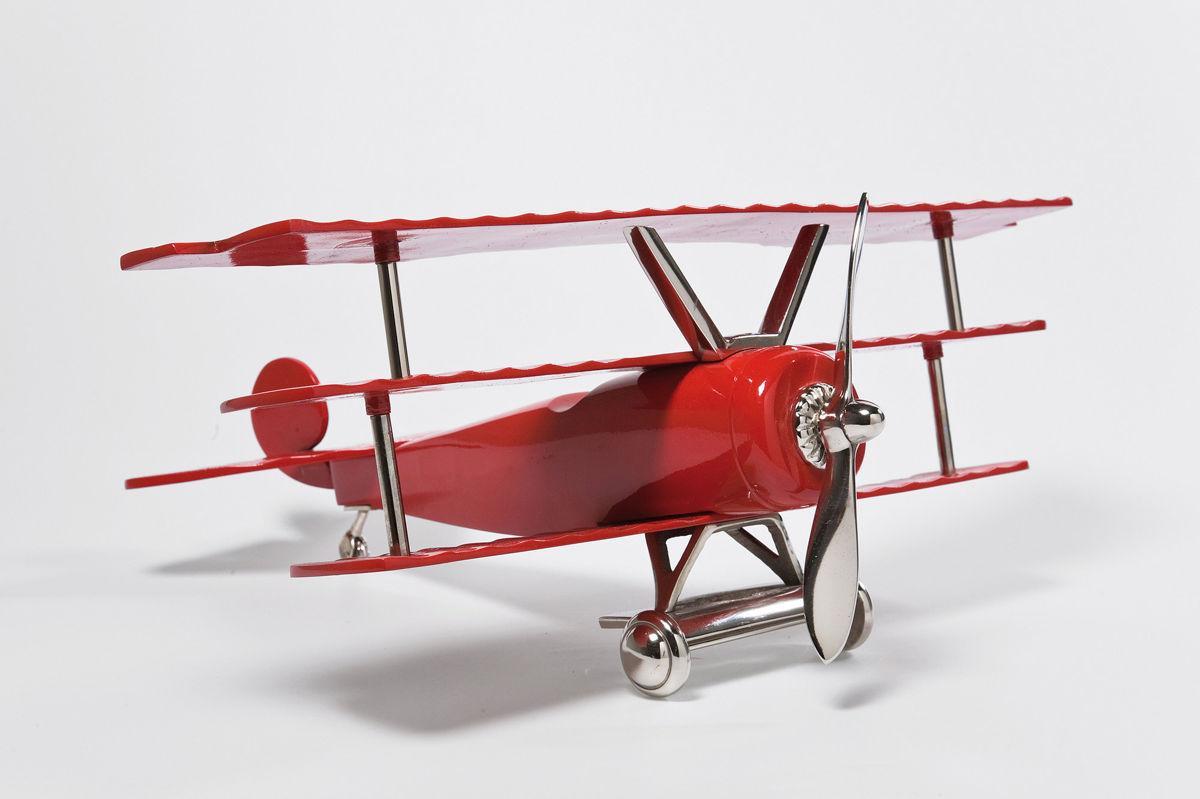 Unikalny samolot w kolorze połyskującej czerwieni idealny dla lotnika - 9design 2013