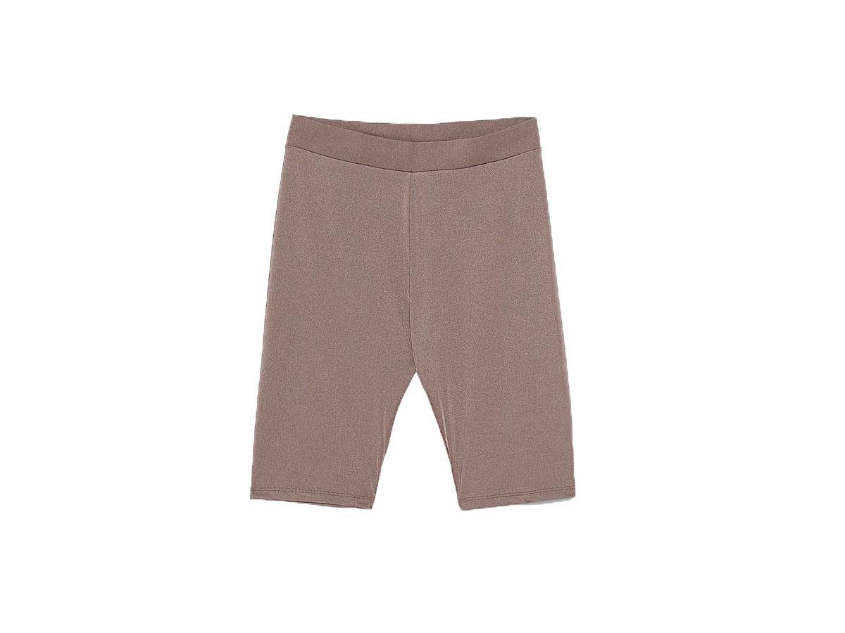 Krótkie legginsy typu kolarki, Zara, cena ok. 59,90 zł