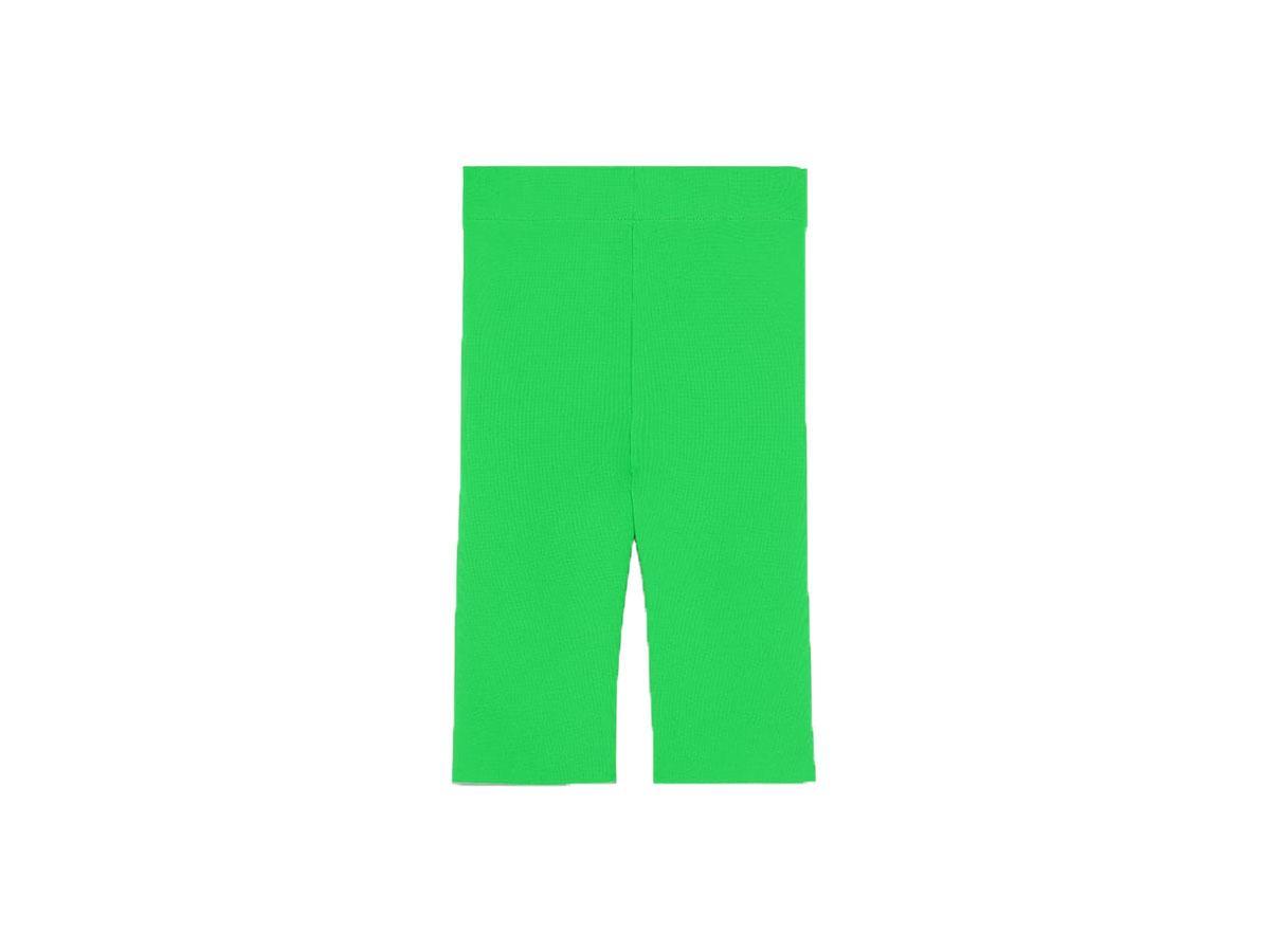 Spodenki kolarki w neonowym kolorze, Zara, cena ok. 69,90 zł